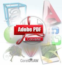 PDF Convert can Convert PDF documents from over 140 File Formats.  Including MicroSoft Word, MicroSoft Excel, MicroSoft Visio, MicroSoft PowerPoint, AutoCAD, CorelDraw, WordPerfect, Adobe PhotoShop, Adobe Acrobat, RTF, Txt, Image and more 149 File Formats to PDF Formats. Adobe PDF Converter is a multilingual software, including English, Chinese, German, French, Italian, Japanese and Very user-friendly interface and easy to use. Very quick in read speed and no quality is lost!